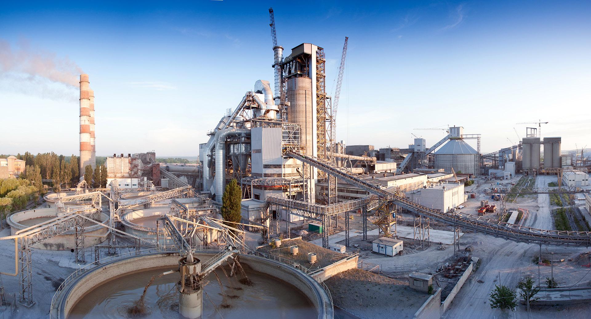 CRH Cement  plant