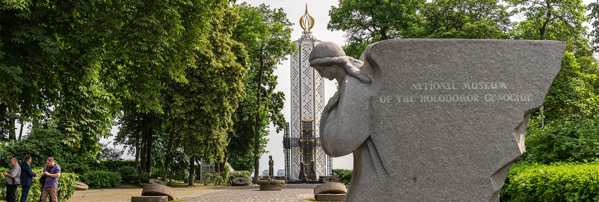 Memorial to Holodomor Victims in June