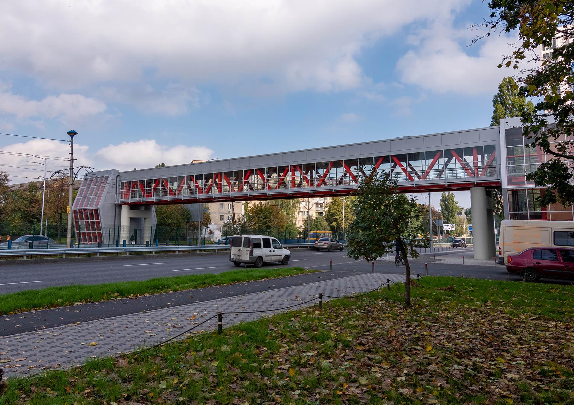 Пішохідні мости в серпні 2020